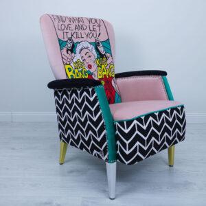 armchair-pop-art