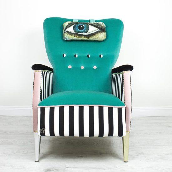 tugitool-silm-turkiiz-triibuline-roosa-varviline-roheline-sinine-kasitoo-disain