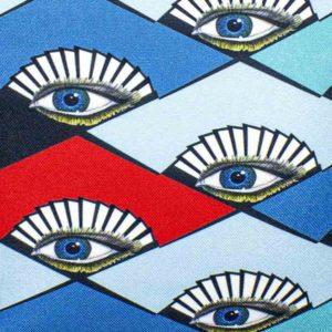 natalja-eljas-rombid-silmad-punased-sinise-mustad-tutikesed-disain-tekstiil
