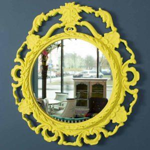 peegel-kollane-raam-barokko-kollane-kriidivarvid