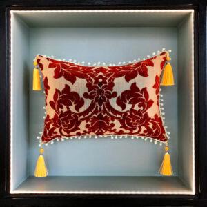 cushion-ledi-godiva-red