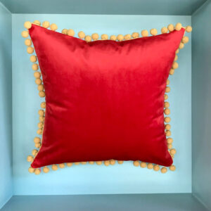 red-cushion